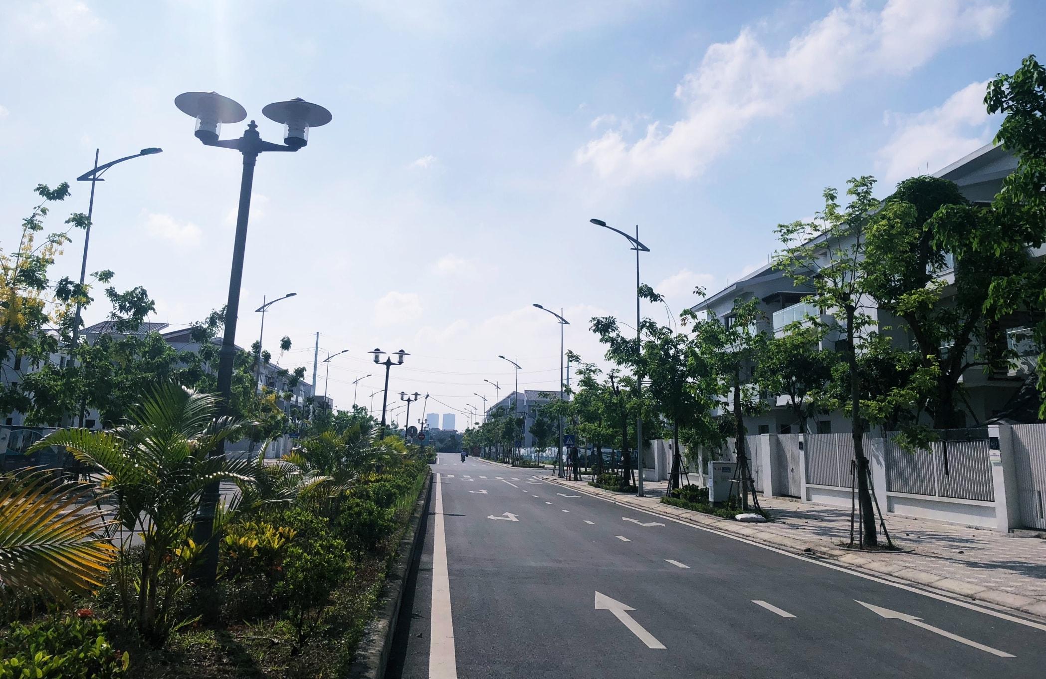 Hạ tầng khu đô thị Geleximco Lê Trọng Tấn