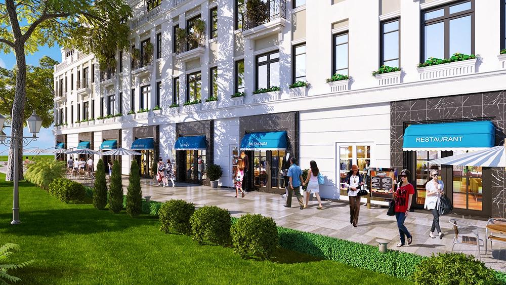 Môi trường sống của dự án Shophouse Geleximco