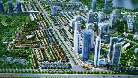 Phối cảnh tổng thể khu đô thị Lê Trọng Tấn