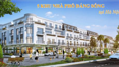 5 khu nhà phố đáng sống nhất tại Hà Nội