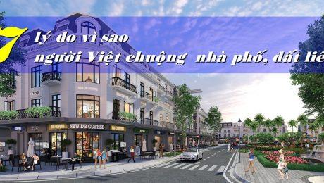 Nhà phố thương mại