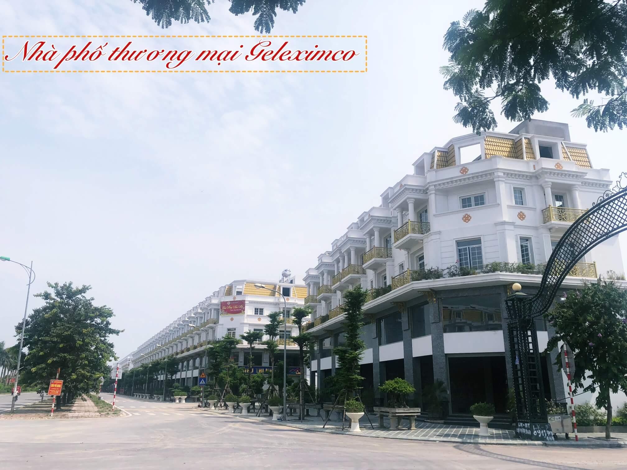 Khu nhà phố thương mại Geleximco Lê Trọng Tấn