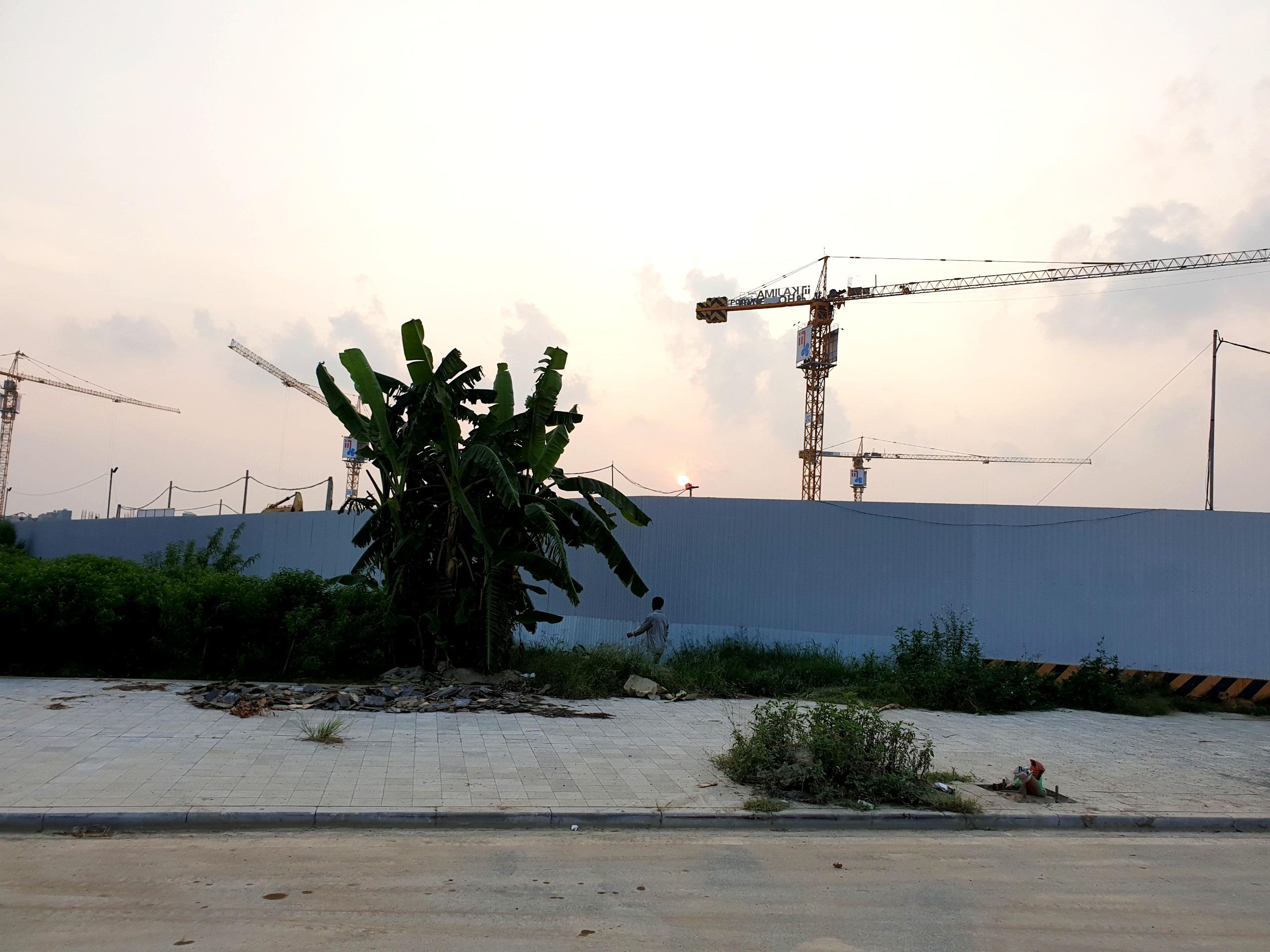 Hình ảnh công trường dự án Aeon Mall