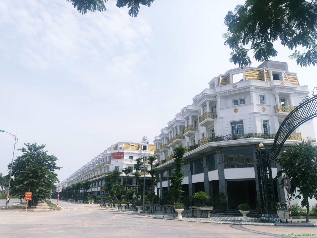 Phối cảnh nhà phố Shophouse tại Lê Trọng Tấn