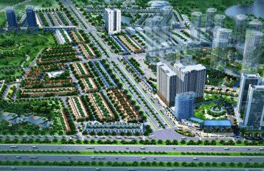 Tổng thể khu đô thị Geleximco Lê Trọng Tấn