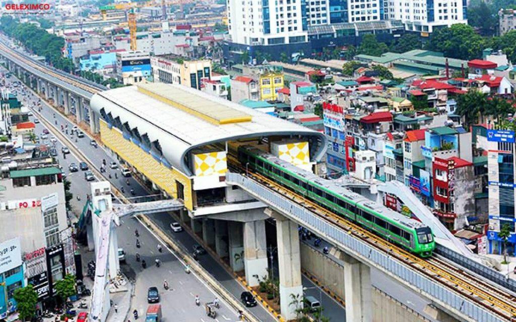 Tuyển đường sắt Cát Linh Hà Đông đã chính thức đi vào hoạt động