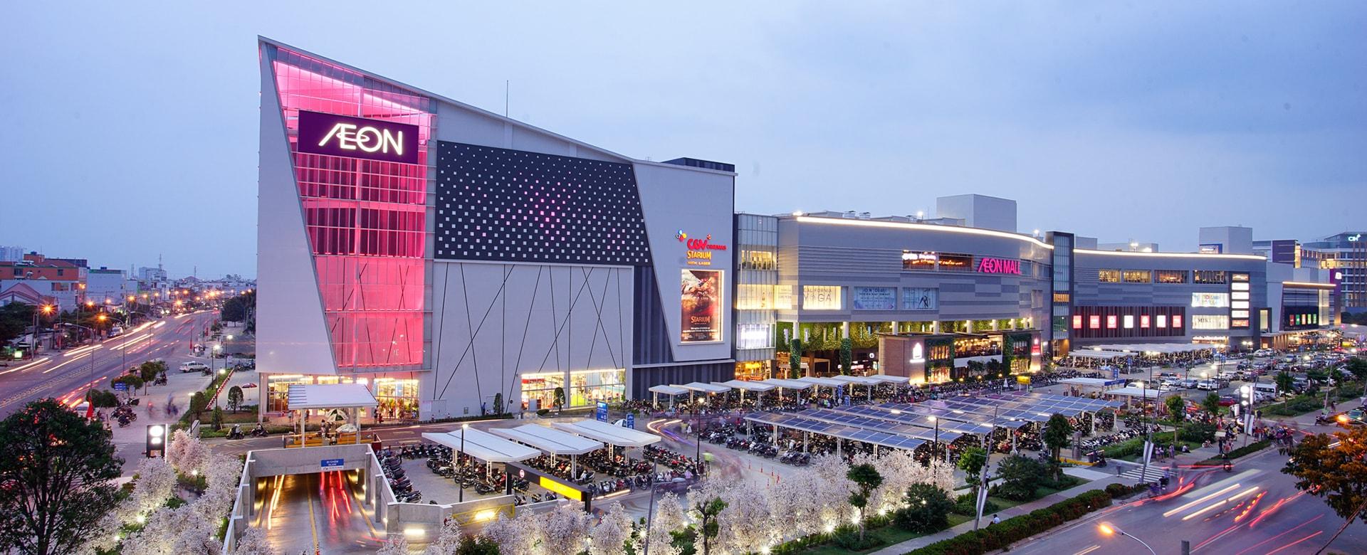 Hình ảnh trung tâm thương mại Aeon Mall