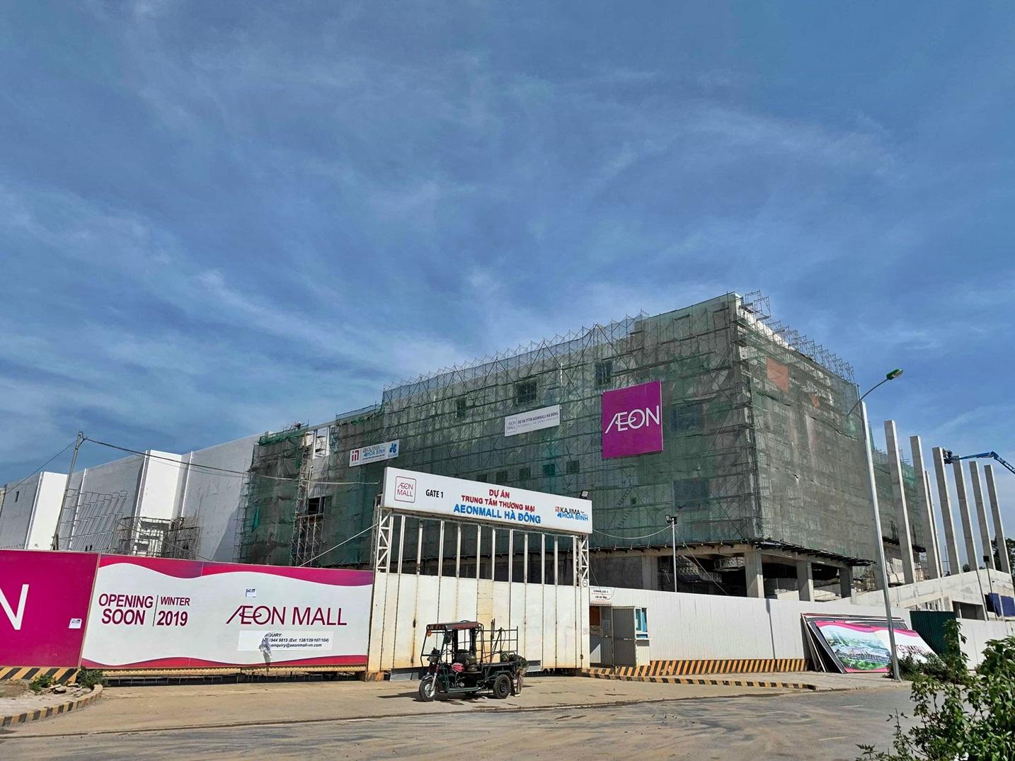 Cập nhật dự án Aeon Mall Hà Đông