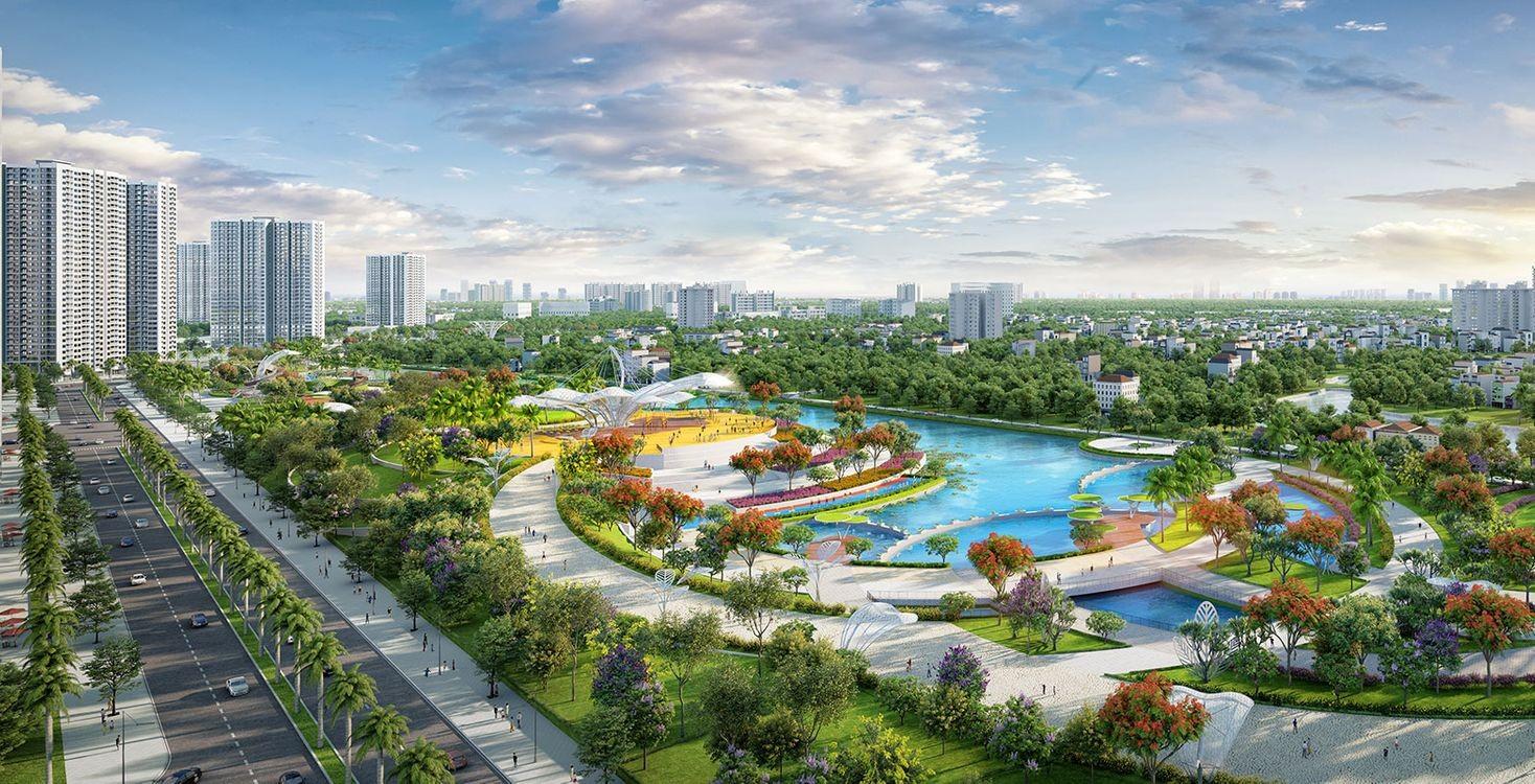 Phối cảnh tiện ích Vinhomes Smart City