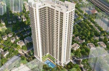 Tổng thể toà căn hộ An Bình Plaza