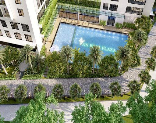Không gian tiện nghi căn hộ An Bình Plaza