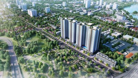 Phối cảnh dự án Phương Đông Green Park