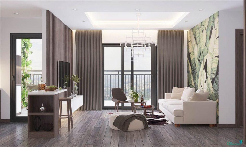 Thiết kế căn hộ chung cư số 1 Trần Thủ Độ